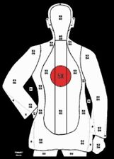 """Special B-21X (Red Center) Le Silhouette Targets [20.5"""" x 23.5""""] (50 targets)"""