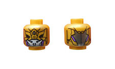 Lego cabeza en Pearl oro Avengers Alien Foot soldier Super Heroes 3626cpb0762 nuevo
