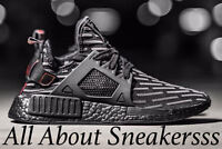 """Adidas NMD XR1 PK """"Core Black Red""""  BA7214 Limited and Dead Stock"""