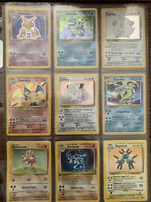1999 Pokémon Complete Base Set - Never Played! Charzard Blastoise MINT! 102/102