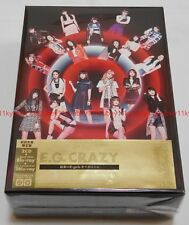 New E-girls E.G. CRAZY First Limited Edition 2 CD 3 Blu-ray Photo Book Japan F/S