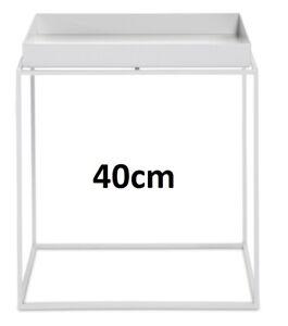 HAY, Tray, beistelltisch M, tablett weiss, quadratisch 40x 40x44cm
