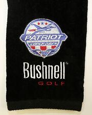 Bushnell Patriot Day Golf Towel Black