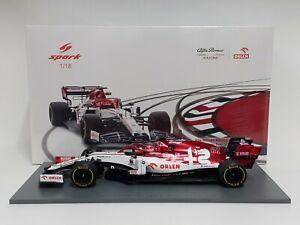 Model Car 1:18 Spark Formula 1 Sauber Alfa Romeo C39 Kubica 2020 Modeling
