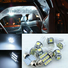 Pure White LED SMD Light Interior Package For 2011 2015 Kia Picanto Morning