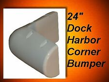 PVC (Soft) Boat Dock Cushions / Dock Corner Flat Back (large dock harbor)