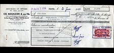 """PANTIN (93) MEUBLES en HETRE & en BOIS BLANC """"Ch. HAGMANN & Fils"""" en 1951"""