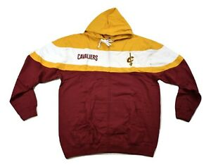 Majestic NBA Mens Cleveland Cavaliers Basketball Hoodie New 2XL