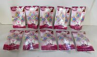 """Pack of 30 Disney Princess Easy Fill 9"""" Foil  Party Balloons no Helium Required"""