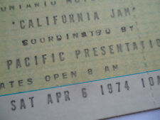 CALIFORNIA JAM Original__1974__UNUSED__CONCERT TICKET_Deep Purple, Black Sabbath