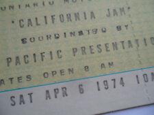 CALIFORNIA JAM Original__1974__UNUSED__CONCERT TICKET_Deep Purple, Black Sabbath