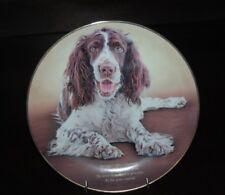 Danbury Mint Cherished Springer Spaniels Decorative Plate Love They Share