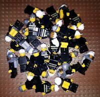 10 Lego City Feuerwehr Figuren Minifig Station Feuerwehrmann Firefighter 2
