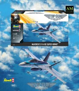 Top Gun Maverick - Revell Kit Modellismo 1/48 - Per / A-18E Super Hornet - Neu /