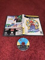 Super Mario Sunshine Nintendo GameCube w/Original Box-Clean & TESTED! NO MANUAL