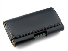 Luxury Leather Waist  Belt Carrying Case Holster Pouch for Samsung Galaxy/ Phone
