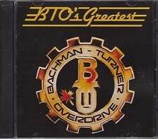 BACHMAN TURNER OVERDRIVE - BTO'S GREATEST - CD - NEW