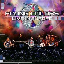 Live in Europe by Flying Colors (CD, Oct-2013, 2 Discs, Music Theories)
