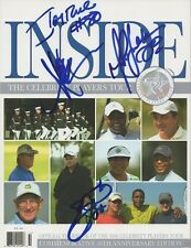 Emmitt Smith*Jerry Rice*Marcus Allen*Marshal Faulk*Signed*Celebrity*Go lf*Program