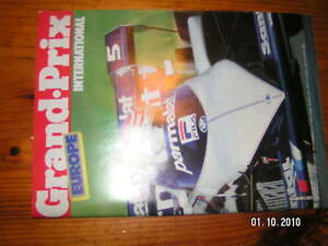 Grand prix international formule 1 n° 71 Europe 1983