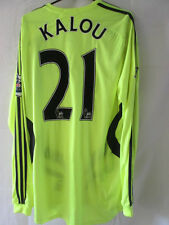 Chelsea 2006-28 Soloman Kalou formotion Away Football Shirt large /20917 LS