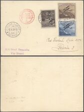 Liechtenstein 1930 - Zeppelin Flight Air Mail Postcard D51