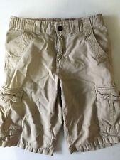 Urban Pipeline Tan Cargo Shorts Cotton Boy's Size 16 6 Pockets EUC