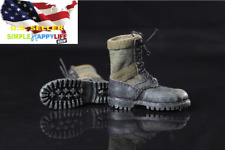 1/6 green color Combat boots soldier shoes hot toys phicen ganghood ❶US seller❶