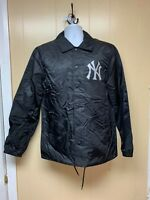 Men's Brand New Black New York Yankees Athletic Fashion Jacket [LS75B453]