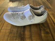 Shimano S-Phyre SH-RC901 RC9 Carbon road cycling shoes 43 White BOA SPD-SL