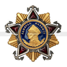 USSR Russian Soviet NAVY «Order of Nakhimov» 1st class, Full Size Replica