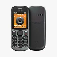 Totalmente Nuevo Teléfono DESBLOQUEADO básico Nokia 100 - 2G-Radio Fm-Linterna de altavoces