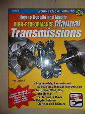 How to Rebuild and Modify High-Performance Manual Transmissions BOOK MANUAL 2010