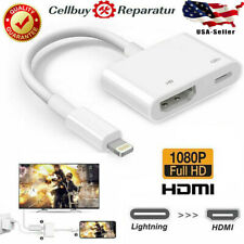 1080P Lightning to HDMI Digital AV Adapter for iPhone iPad Monitor HDTV Project