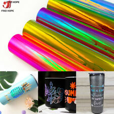 Various Effect Self Adhesive Sign Vinyl Film Back Sticky Craft Paper Sheets Roll
