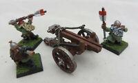 Warhammer Dwarfs Bolt Thrower warmachine metal army lot oop painted
