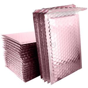 20pcs Rose Gold Bubble Envelope Foam Foil Shipping Mailing Bag Bubble NEW AU AU