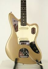 ☆ JAW-DROPPING Vintage 1964 Fender JAGUAR in Ultra RARE SHORELINE GOLD! ☆