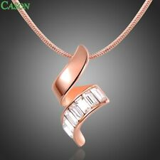 Fashion S Pendant Necklaces Paved Cubic Zirconia Jewelry Clothing Accessories