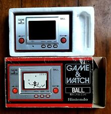 BALL GAME WATCH NINTENDO OFFICIAL GOOD CONDITION IT WORKS PERFECTLY