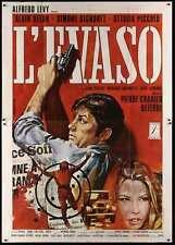 La VEUVE COUDERC Italian 4F movie poster 55x79 ALAIN DELON SIMONE SIGNORET