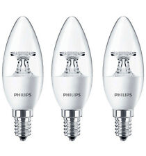 3 x Philips CorePro LED Candle 5.5w =40w E14 SES 2700k Warm White Small Ed Screw