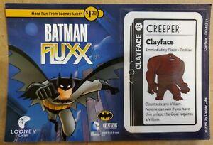 Batman Fluxx Clayface Promo Looney Labs