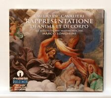 MARCO LONGHINI - DE'CAVALIERI rappresentatione di anima... STRADIVARIUS CD NM