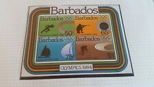 BARBADOS 1984 SG MS749 OLYMPIC GAMES MNH