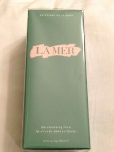 LA MER THE CLEANSING FOAM 4.2 oz. FULL SIZE BNIB AUTHENTIC sealed EXP 2023