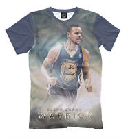 Stephen Curry t-shirt - basketball player for the Golden State Warriors NBA tee