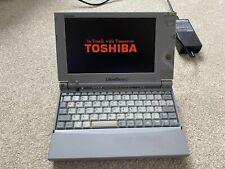 RARE WORKING Vintage Toshiba libretto 100ct