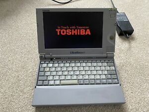 RARE WORKING Vintage Toshiba libretto 100ct