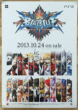 BLAZBLUE rare ps3 51.5 cm x 73 JAPANESE PROMO POSTER